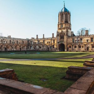 Picture of Christ Church college, Oxford, England